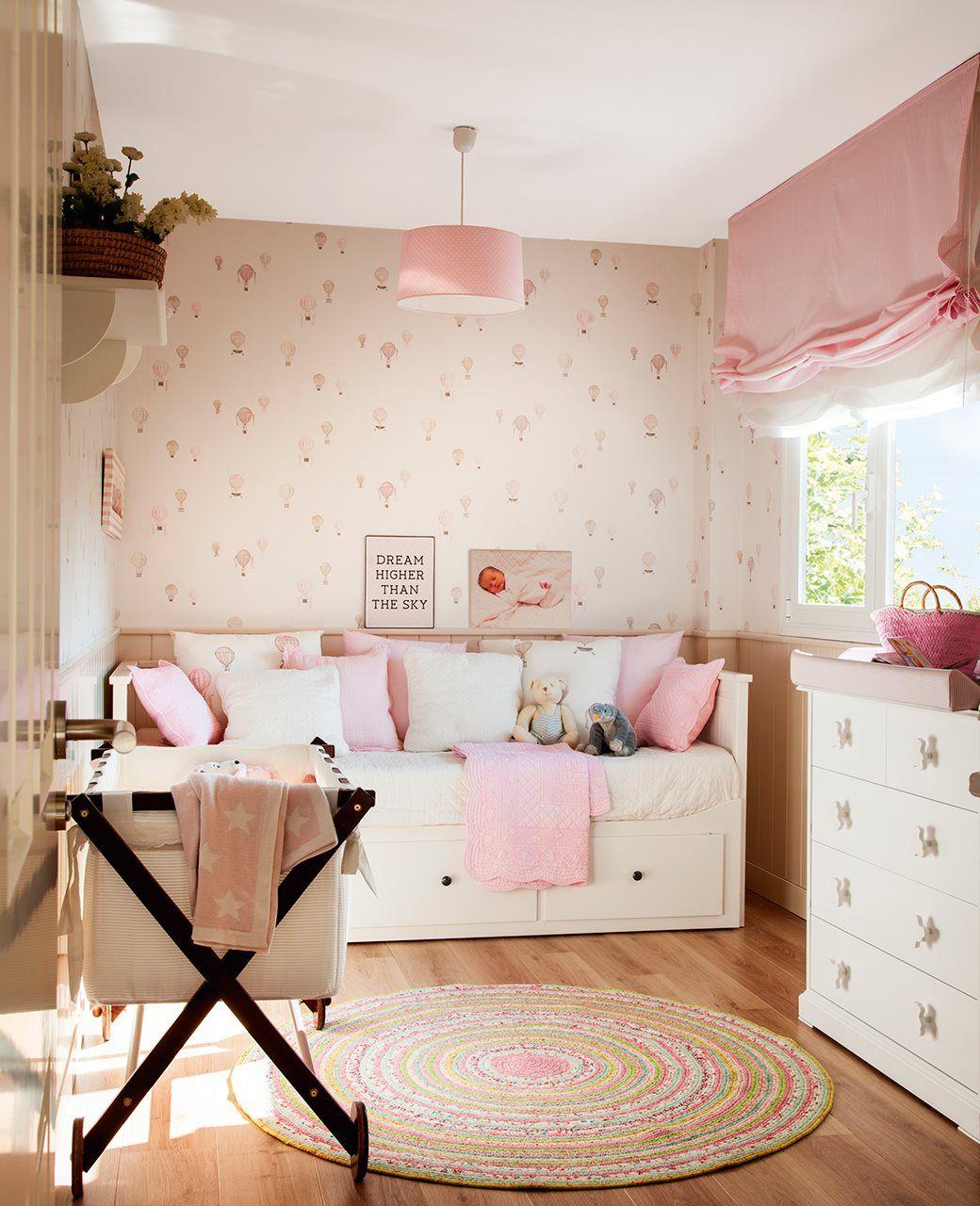 Es la casa de nuestros sue os dormitorios infantiles for Decoracion de la habitacion de nina rosa