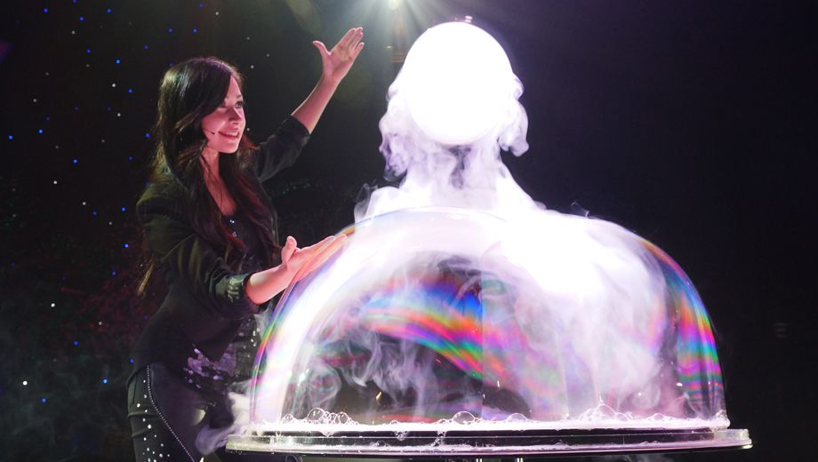 Gazillion Bubble Show New York Tickets - $35.00 - $55.00 at New World Stages - Stage 2. 2015-12-30