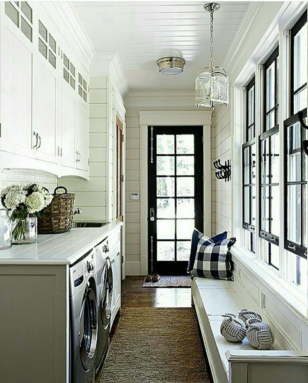 Sarah Richardson Laundry Mudroom Hallway Brilliant Design