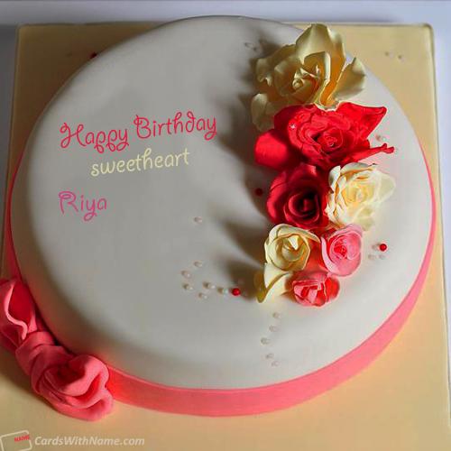 Wallpaper Of Birthday Cake With Name Riya   Bestpicture1.org