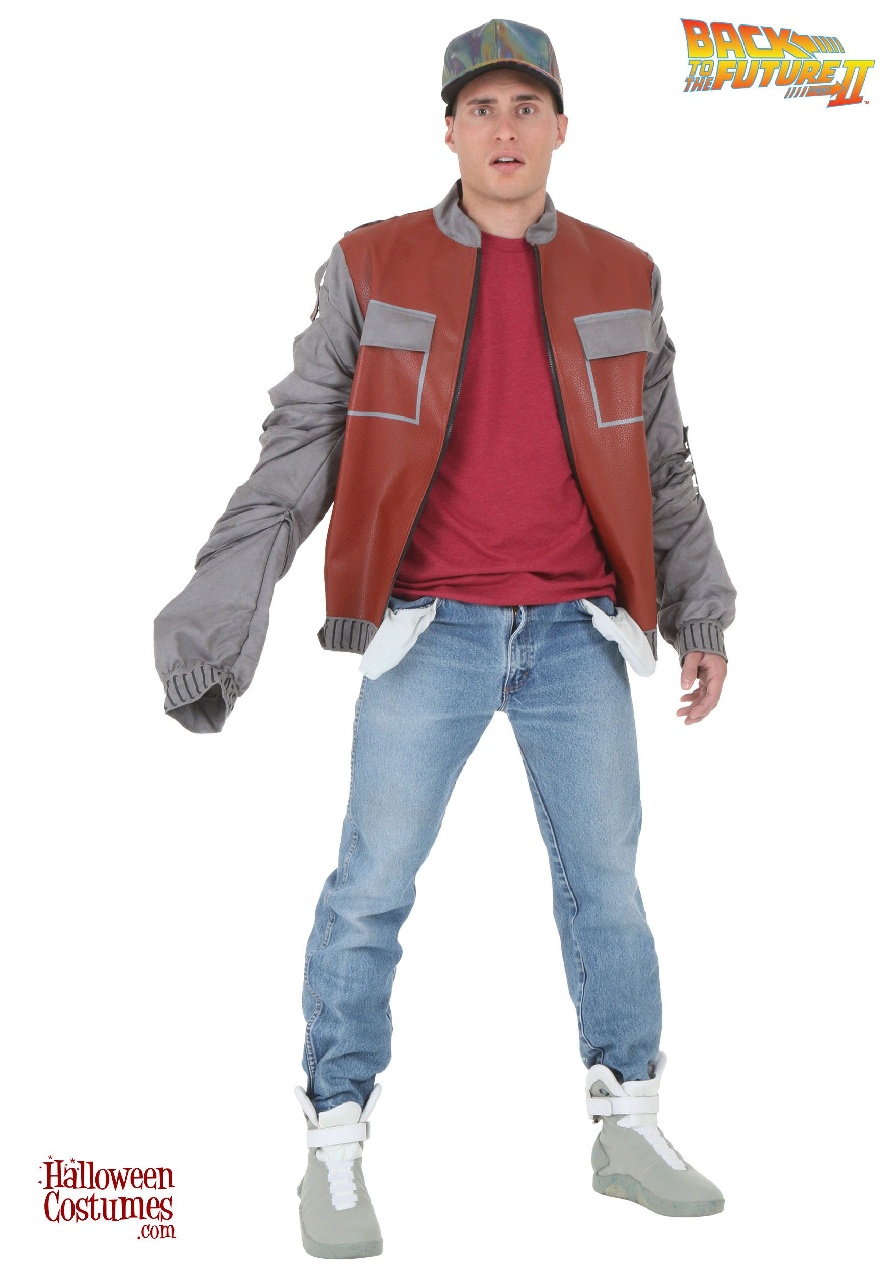 Back To The Future Marty Mcfly Jacket For Men Costume Marty Mcfly Costume Marty Mcfly Jacket Marty Mcfly [ 2500 x 1750 Pixel ]