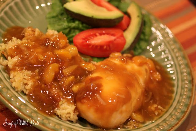 Lion House-Apricot Chicken, a family favorite!