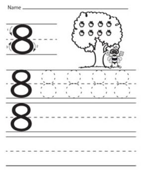 math worksheet : 1000 images about preschool education on pinterest  number  : Kindergarten Number Writing Worksheets