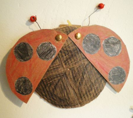 Mus e du jouet bricolage de printemps insectes pinterest - Bricolage de printemps ...