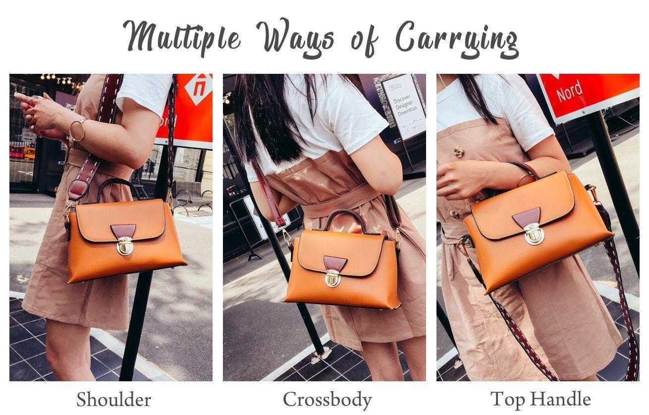 4d9eb581d2 👜 34.99 🔜 rofozzi  Pocketbook Women Handbag ~ Top-Handle Purse ~ Size