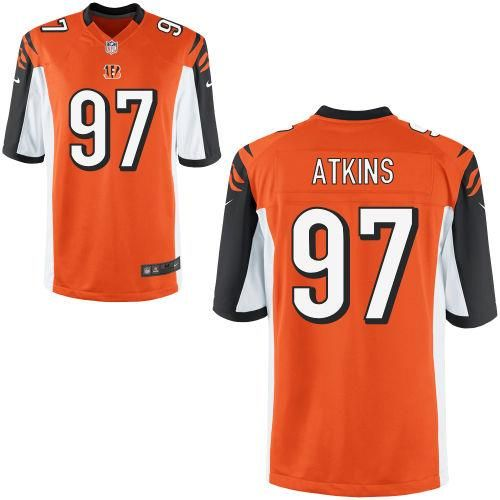Cincinnati Bengals 97 Youth Geno Atkins Nike Game Orange Jersey sale ... 1a3492613790