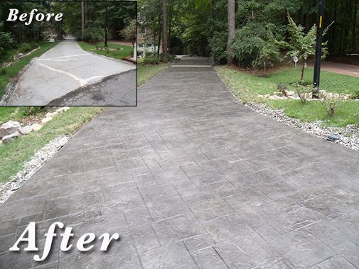 Concrete Transformations Can Provide Decorative Concrete Overlays To  Customize Your Porch, Patio, Pool Deck, Walkway Or Driveway.