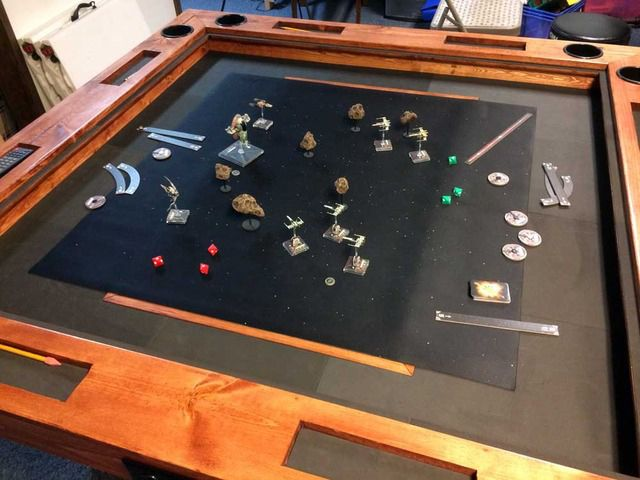 Amazing DIY Tabletop Gaming Table: World Building