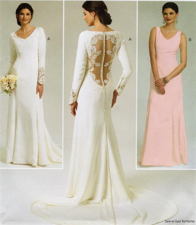 Butterick 5779 SEWING PATTERN 4-12 FAB Wedding Dress/Gown