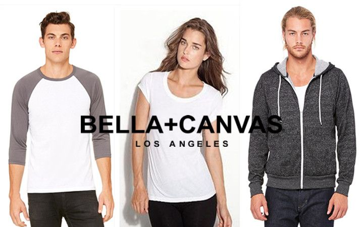 Bella Canvas Fashion Apparel for Men and Women from NYFifth