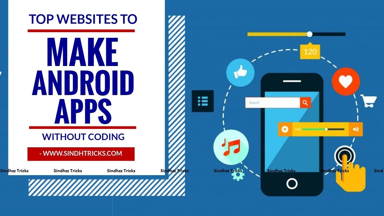 Top websites to Make Android App without Coding Android