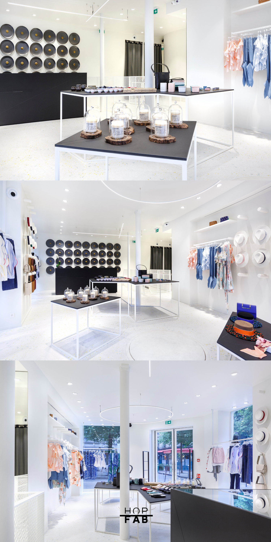 Creation De Meubles Presentoirs Sur Mesure Pour Boutique Concept Store Stores Mobilier De Salon