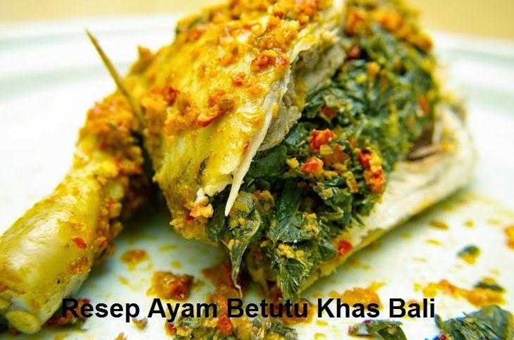Aneka Resep Masakan Ayam Resep Ayam Bakar Betutu Khas Bali Resep Ayam Resep Masakan Resep