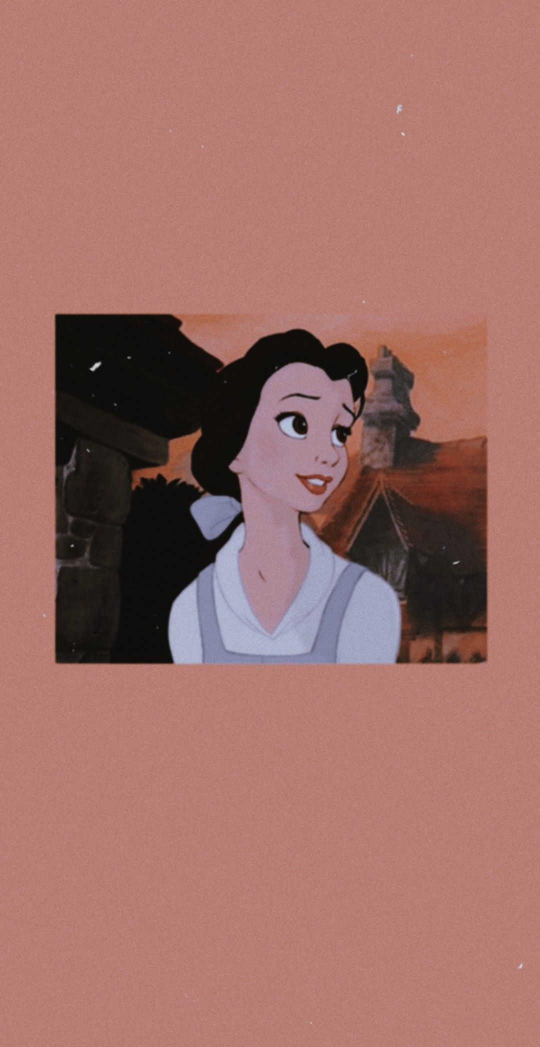 Beauty And The Beast Belle Aesthetic Wallpaper Disney Wallpaper Cartoon Wallpaper Cartoon Wallpaper Iphone