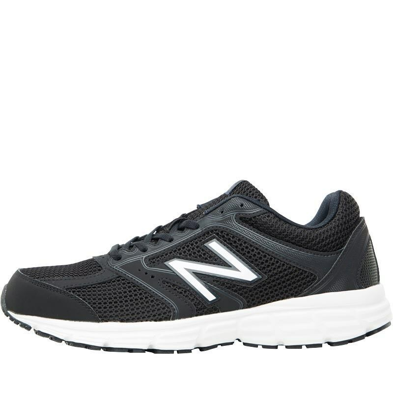 New Balance M460 V2 Neutral Mens Running Shoes Black/White ...