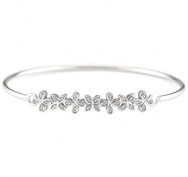 row brass rowby bangle pave jewelry fine woods diamond the bracelet by with