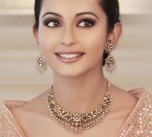 MORNING MAKEUP natural indian bridal makeup. I like the