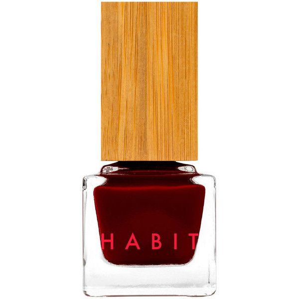 Habit Cosmetics 15 Santa Sangre Red By ($18) ❤ liked on Polyvore featuring beauty products, makeup, cosmetics, red cosmetics and red makeup