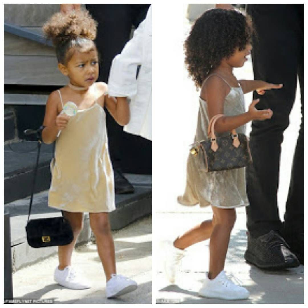 Tunezmedia Blog Kanye West 3yr Old Daughter Nori Spotted With A N420k Louis Vuitton Bag Pics Insta Fashion Kids Fashion Kids Fashion