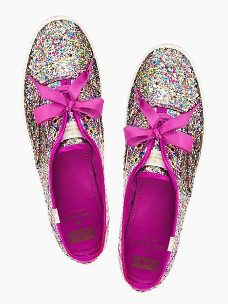 keds for kate spade new york glitter kick - kate spade new york  6883b86f55e6