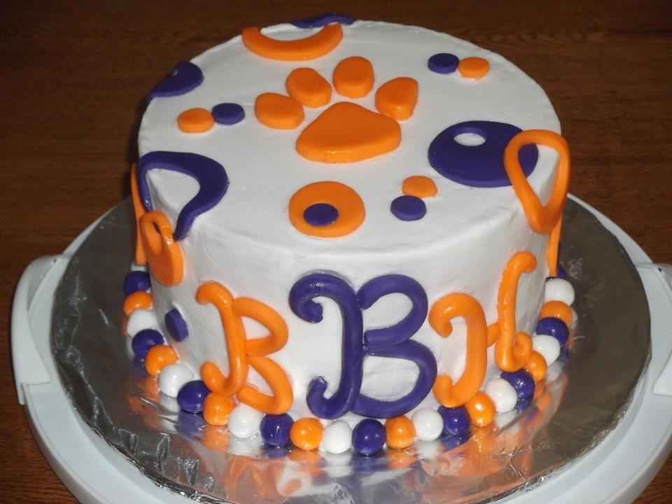 Clemson Cake My Cakes Pinterest Cake Eat Cake And Birthday Cakes