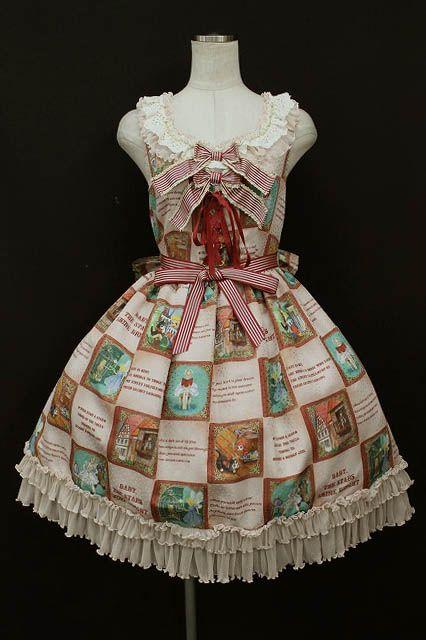 Amazing BABY, THE STARS SHINE BRIGHT / Ex Libris The DOLLS Lace Ruffle Jumper Skirt