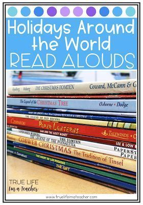 Favorite December Read-Alouds perfect for Holidays Around the World and Christmas Around the World