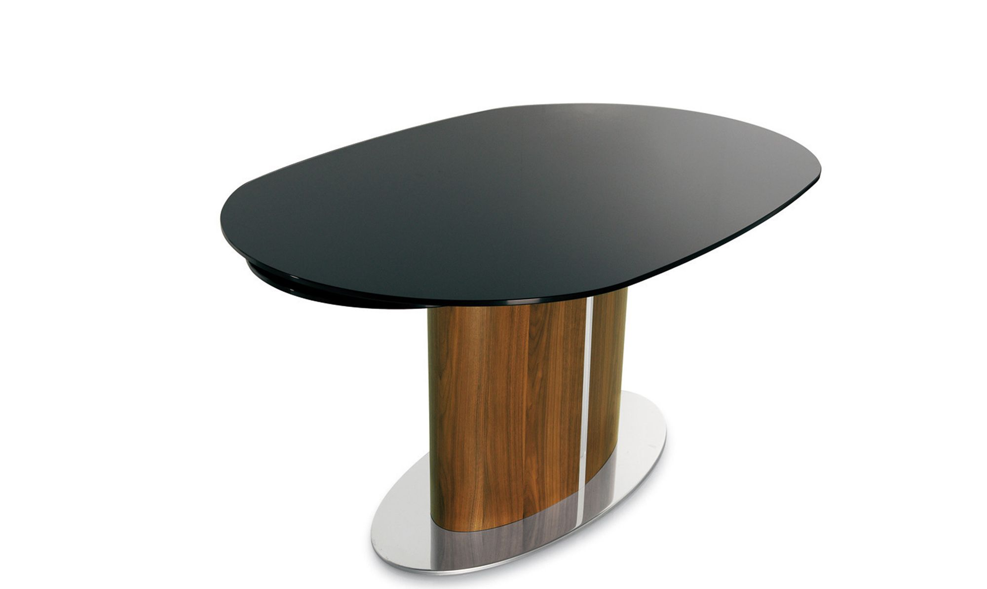 Odyssey Table Dining Table Glass Top Dining Table Extension