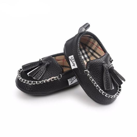 775a85a54b2dd Leather Loafers Zapatos De Bebé