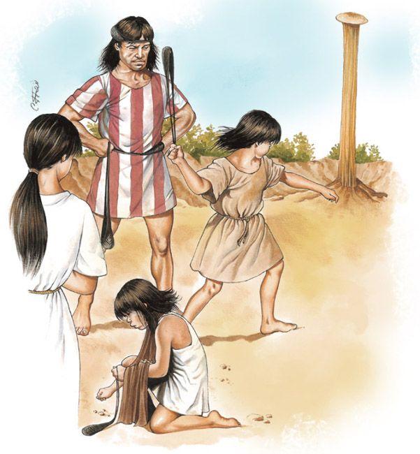Teaching the Balearic slingers