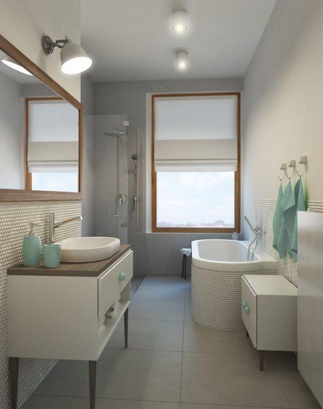 Badezimmer gestalten-27 Ideen mit skandinavischem Charme wohnen - badezimmer gestalten ideen