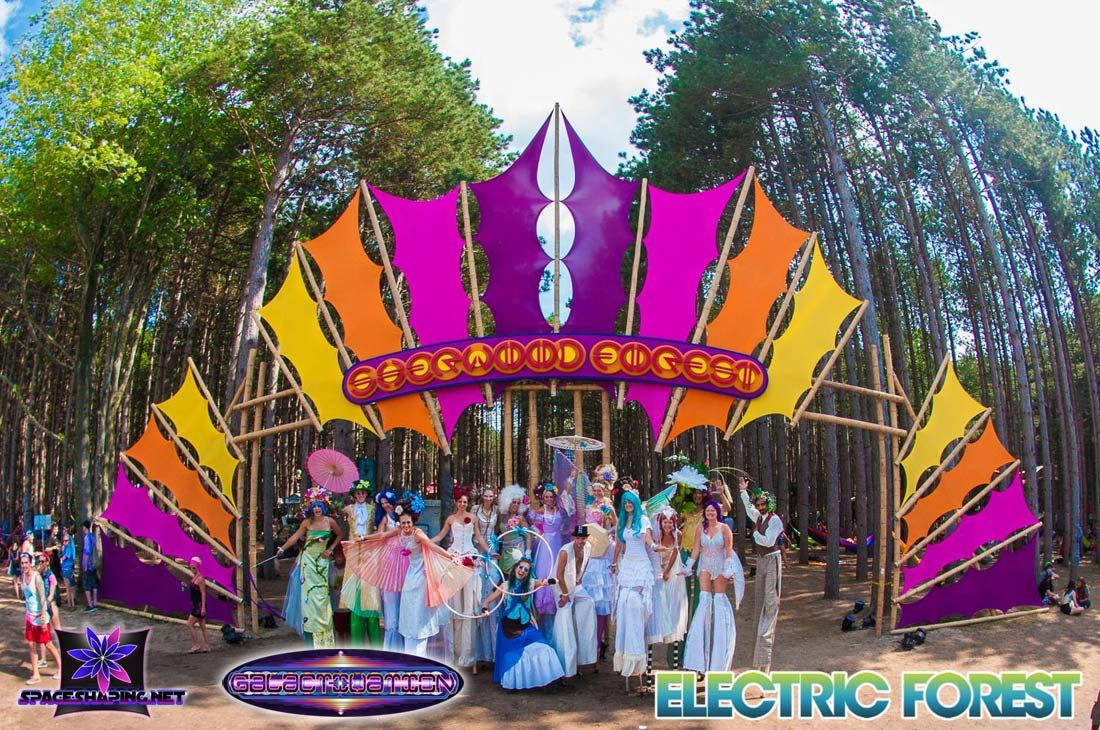 electric forrest electronic music festival ambiance