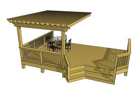 Free Deck Plans 1l045 Deckplans