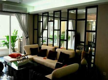 love is not over | ruang keluarga kecil, desain interior