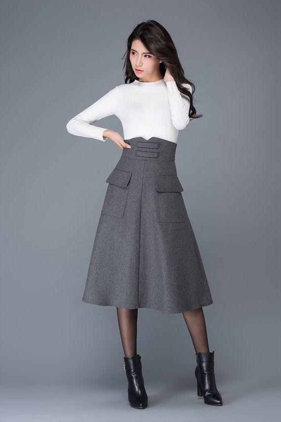 60324aaad3 50+ Faldas tendencia para este invierno - Page 54 of 96 - fashion ...