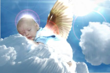 Beautiful Baby Angel Pictures