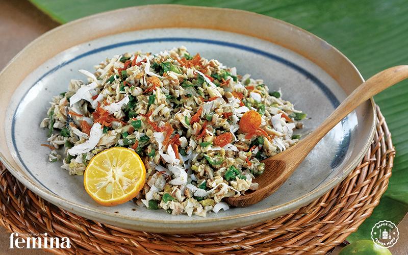 Resep Lawar Putih Oleh Maya Kerthyasa Daging Cincang Sayuran Resep