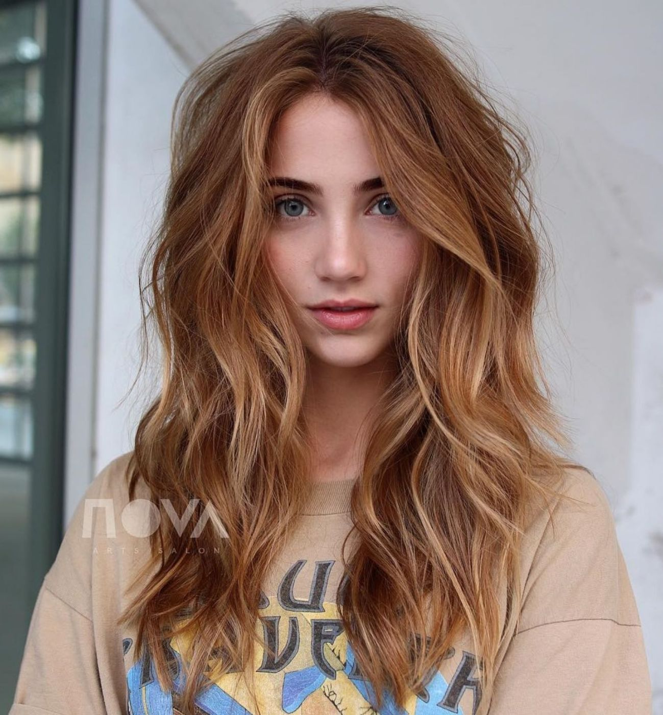 60 Most Beneficial Haircuts For Thick Hair Of Any Length In 2020 Long Shag Haircut Thick Hair Styles Haircuts For Wavy Hair