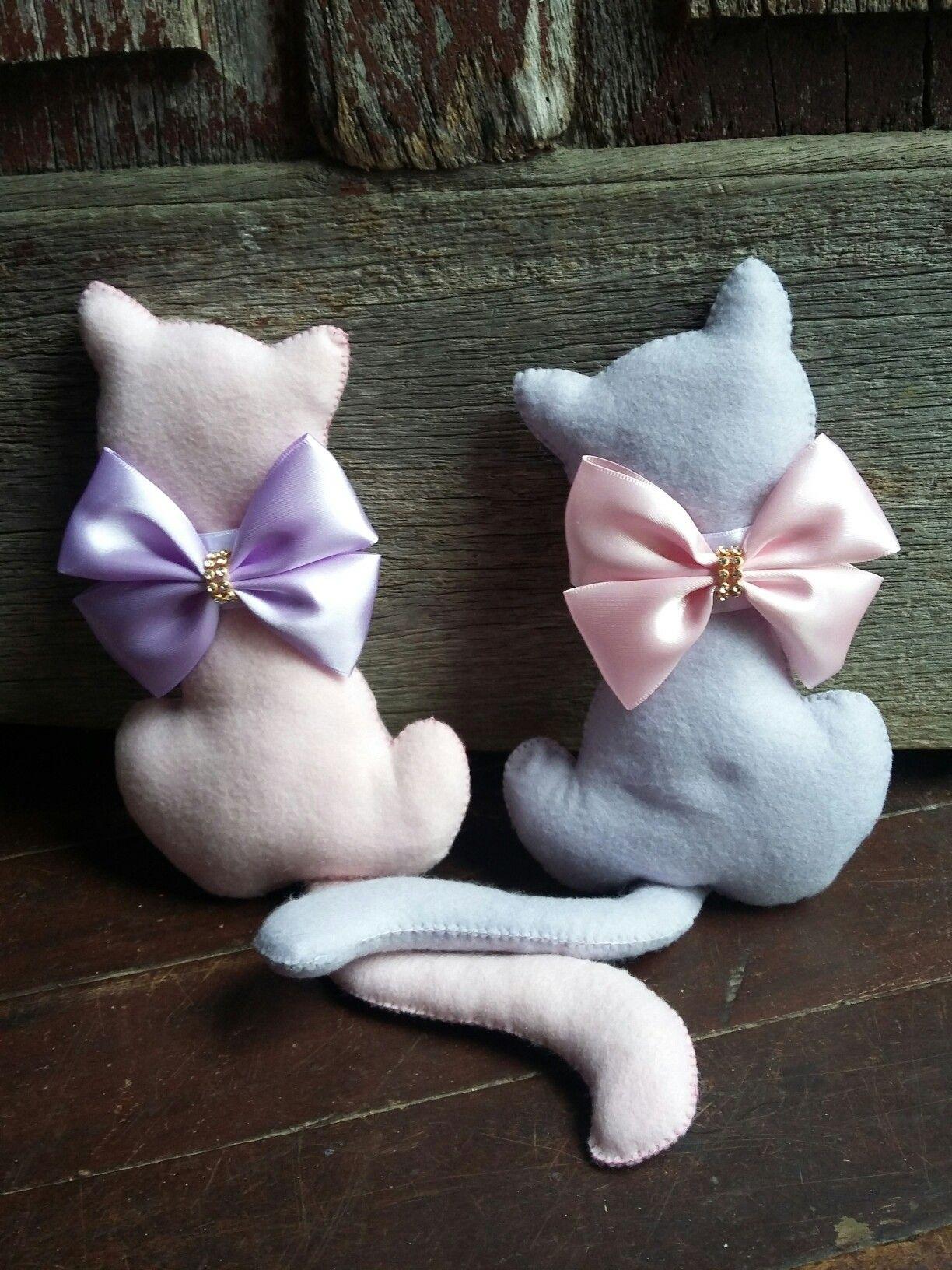 Gatinhos mini almofadas