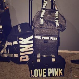 PINK Victoria's Secret Handbags - VS PINK suitcase sets | bags ...