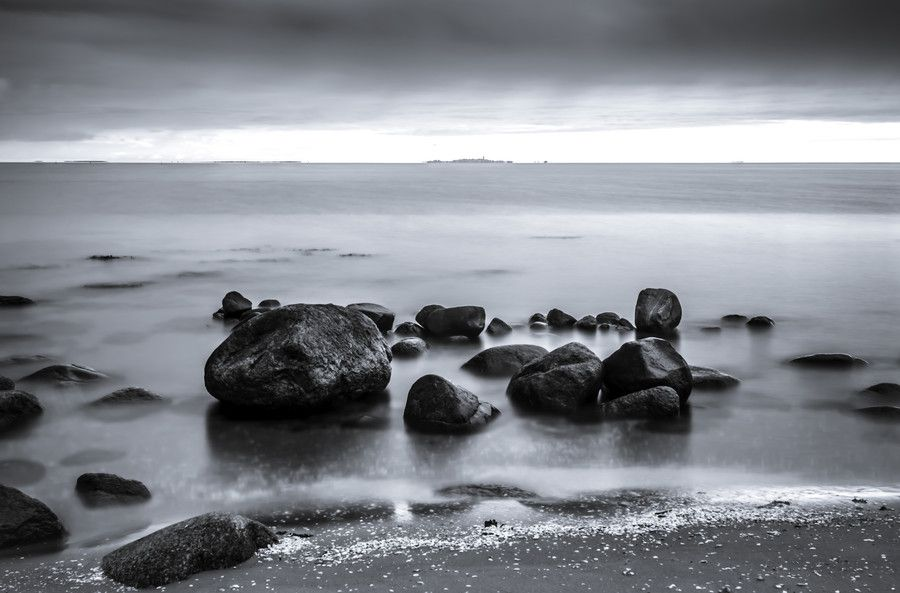 Shallow water-B/W by Christian Wig on 500px