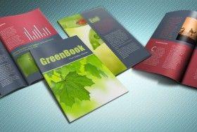Indesign Templates | Indesign Greenbook Brochure Template Cool Design Indesign