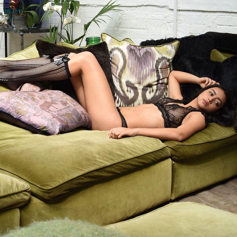 fb7f5e5ebcc Emiko Victoriana Black Bra   Knickers Set - product images  lingeriecherry