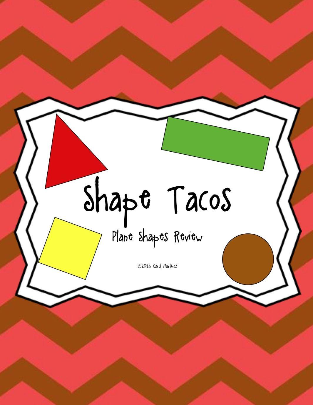 Shape Tacos Integrate Art Amp Math For Cinco De Mayo
