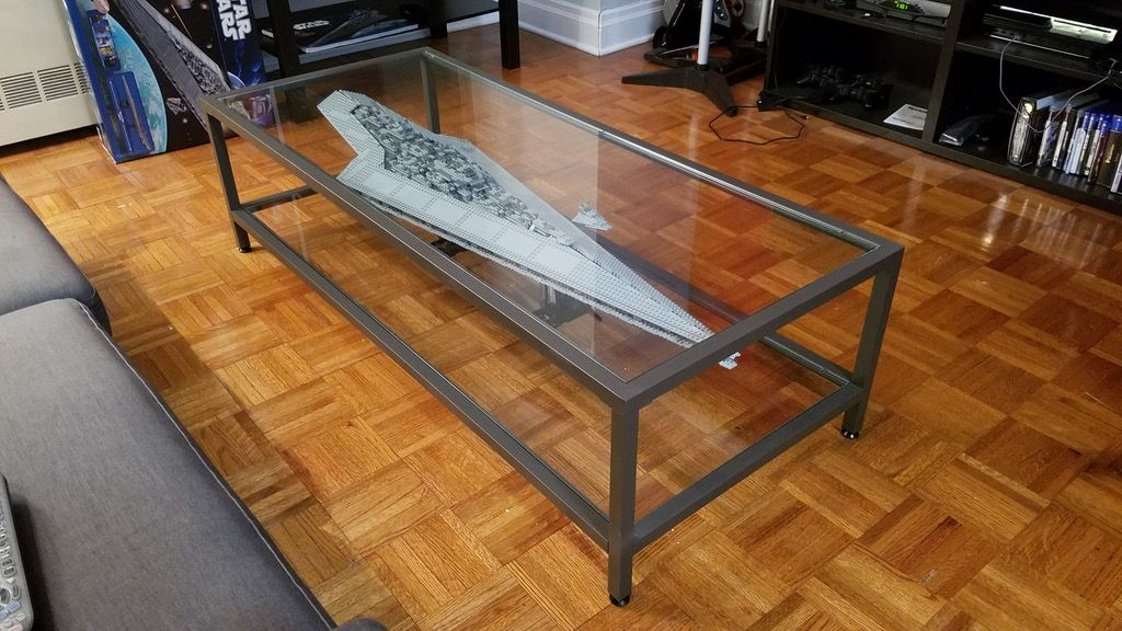 Lego Star Destroyer Coffee Table Star Wars Room Star Wars Decor Shadow Box Coffee Table