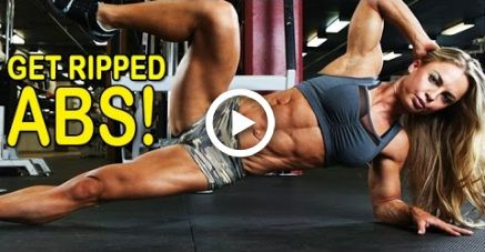 ELEONORA DOBRININA - Fitness Model: Extreme 6 Pack Abs Core Workout @ Russia #fitness