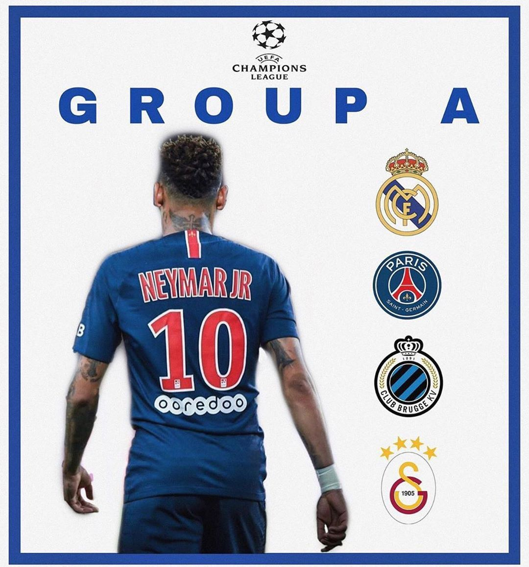 Now that Neymar is confirmed to stay at PSG what are your