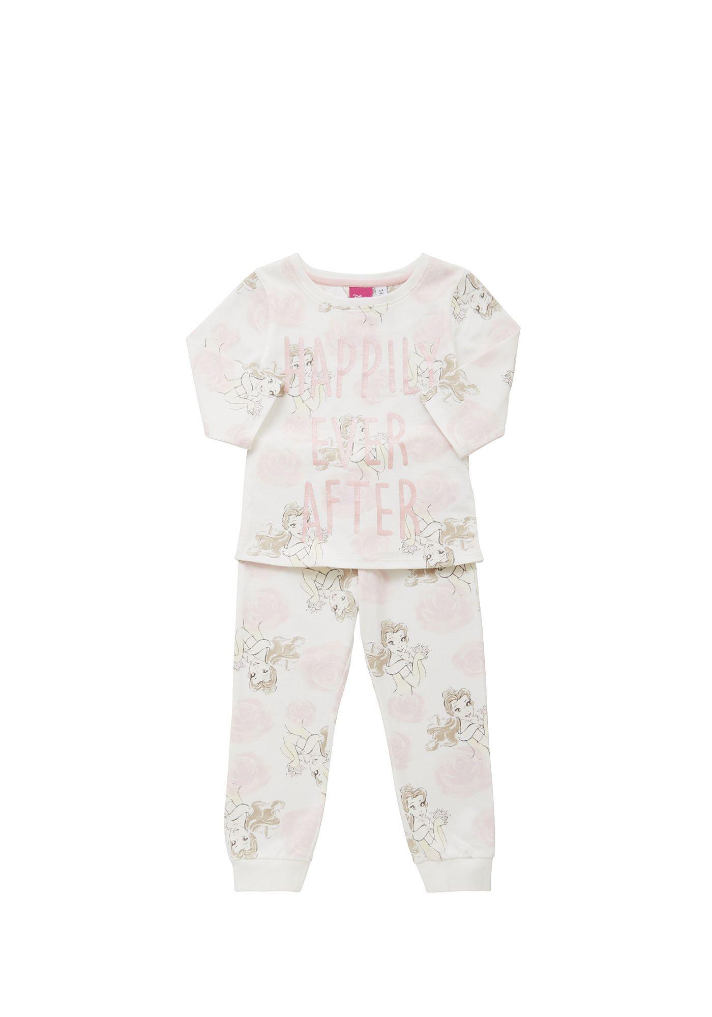 Tesco direct: Disney Beauty and the Beast Belle Print Pyjamas ...