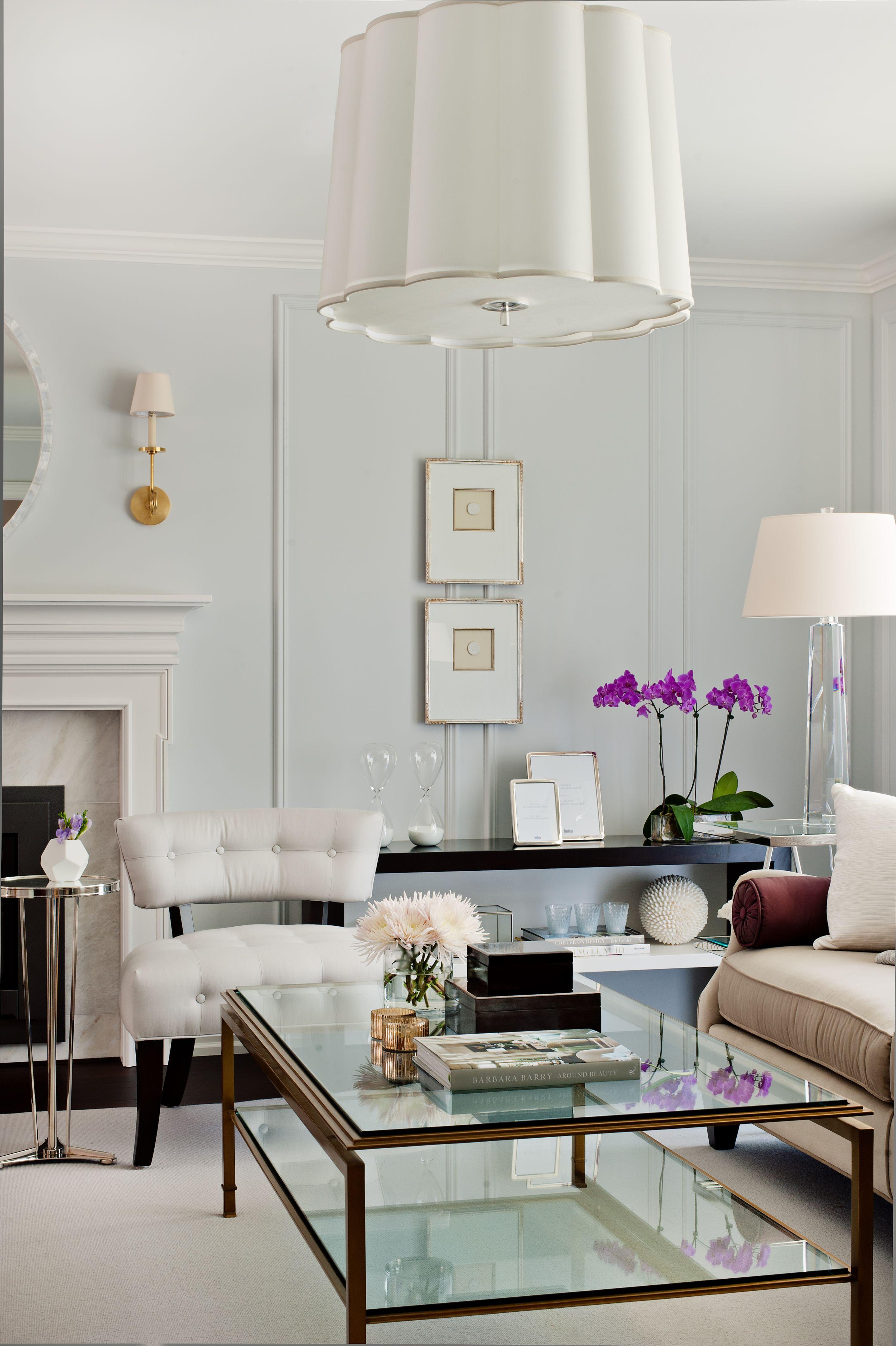 Lighting Basement Washroom Stairs: Living Room Designed By Elizabeth Metcalfe Interiors