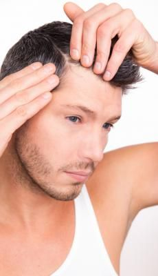 how to tell if your hair is thinning male